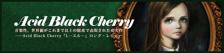 音楽性、世界観がこれまで以上の精度で表現された充実作——Acid Black Cherry『L−エル−』ロング・レビュー
