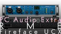 """[特集]<br />[PC Audio Extra]PCオーディオからプロレベルの録音までできる""""万能""""オーディオインターフェイス——RME Fireface UCX"""