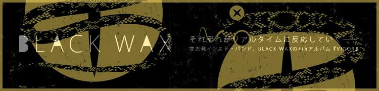 それぞれがリアルタイムに反応していく——宮古発インスト・バンド、BLACK WAXの4thアルバム『VIGOR』