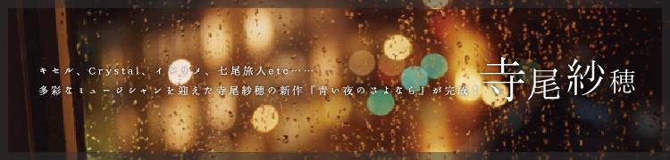 キセル、Crystal、イルリメ、七尾旅人etc…多彩なミュージシャンを迎えた寺尾紗穂の新作『青い夜のさよなら』が完成!