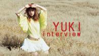 [インタビュー]<br />自身のルーツや溢れ出してくる自意識と向き合って——YUKIが新曲「汽車に乗って」を発表