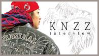 """[インタビュー]<br />ヤバい奴らがヤバいものを作って""""ヤバくね?""""って勝手に盛り上がる——ラッパーKNZZの1stフル・アルバム『Z』登場"""