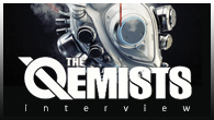 [���ӥ塼]��THE QEMISTS ���ȡ��Х�ɤ˥����������MC��������������Ǥ��Ф��줿������å�����