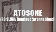 """[インタビュー]<br />世にも美しい""""切れ目の戯言""""——ATOSONE(RC SLUM / Boutique Strange Motel)"""