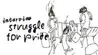 """[インタビュー]<br />""""ハッピーな暴力"""" STRUGGLE FOR PRIDE 『CUT YOUR THROAT』!!!!!!"""