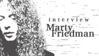 [インタビュー]<br />ギター・サウンドとクラブ・ミュージックの融合 歌心あるギタリスト、マーティ・フリードマンのソロ10作目