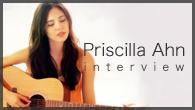 [インタビュー]<br />ナチュラル・ヴォイスのシンガー・ソングライター、プリシラ・アーンが愛する日本の歌、日本語の美しさ