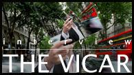 [インタビュー]<br />【THE VICAR】ロバート・フリップの片腕がソロ・プロジェクトを始動、きわめて英国的な初のアルバムを発表!
