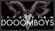 """[インタビュー]<br />閉じていたものが開いた感じ——Baba + Murochin = """"DOOOMBOYS""""、初のフル・アルバムをリリース"""