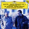 バルトーク:ヴァイオリン協奏曲第2番 / ラプソディ第1・第2番 シャハム(VN)ブーレーズ / CSO [再発] [CD] [アルバム] [2002/09/25発売]