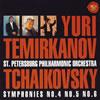 チャイコフスキー:交響曲第4番・第5番・第6番「悲愴」 テミルカーノフ / サンクトペテルブルク・フィルハーモニーso.