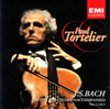 J.S.バッハ:無伴奏チェロ組曲第1番、第4番&第5番 トルトゥリエ(VC)  [CD] [アルバム] [2007/01/24発売]