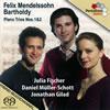 メンデルスゾーン:ピアノ三重奏曲集 J.フィッシャー(VN)ギラード(P)ミュラー=ショット(VC)