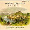 M.ハイドン&モーツァルト:6つのデュエット-ヴァイオリンとヴィオラのための ウェルナー・ヒンク(VN)マティアス・ヒンク(VL) [2CD] [CD] [アルバム] [2007/07/20発売]
