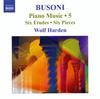 ブゾーニ:ピアノ作品集第5集 ハーデン(P) [CD] [アルバム] [2009/06/24発売]