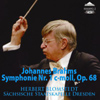ブラームス:交響曲第1番 ブロムシュテット / シュターツカペレ・ドレスデン