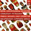 ストラヴィンスキー:バレエ音楽「ペトルーシュカ」(1947年版) / ラフマニノフ:交響的舞曲op.45 ヤンソンス / RCO 他