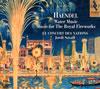 ヘンデル:水上の音楽 / 王宮の花火の音楽 サヴァール / ル・コンセール・デ・ナシオン [デジパック仕様]