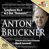 ブルックナー:交響曲第4番「ロマンティック」 ヤノフスキ / SRO [SA-CDハイブリッド] [CD] [アルバム] [2013/10/00発売]