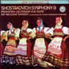 ショスタコーヴィチ:交響曲第9番変ホ長調 / プロコフィエフ:組曲「キージェ中尉」 サージェント / LSO [デジパック仕様]