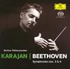 ベートーヴェン:交響曲第3番「英雄」・第4番 カラヤン / BPO [紙ジャケット仕様] [限定]