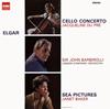 エルガー:チェロ協奏曲 / 歌曲集「海の絵」 デュ・プレ(vc) ベイカー(Ms) バルビローリ / LSO [限定]