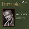 ベートーヴェン:交響曲第5番「運命」&第7番 フルトヴェングラー / VPO