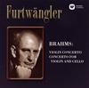 ブラームス:ヴァイオリン協奏曲 / ヴァイオリンとチェロのための二重協奏曲 フルトヴェングラー / ルツェルン音楽祭o. メニューイン(VN) 他