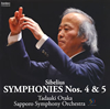 シベリウス:交響曲第4番・第5番 尾高忠明 / 札幌so.