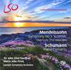 メンデルスゾーン:序曲「フィンガルの洞窟」 / 交響曲第3番 / シューマン:ピアノ協奏曲 ガーディナー / LSO ピレシュ(P)
