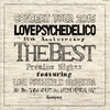 LOVE PSYCHEDELICO / 15th ANNIVERSARY TOUR-THE BEST-LIVE [2CD] [CD] [アルバム] [2015/12/23発売]