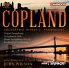 コープランド:管弦楽作品集Vol.2〜交響曲集 ウィルソン / BBCフィルハーモニック 他
