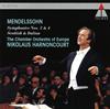 メンデルスゾーン:交響曲第3番「スコットランド」&第4番「イタリア」 アーノンクール / ヨーロッパco. [再発] [CD] [アルバム] [2017/02/15発売]