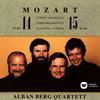 モーツァルト:弦楽四重奏曲第14番&第15番アルバン・ベルクSQ [CD]