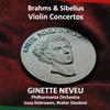 シベリウス&ブラームス:ヴァイオリン協奏曲ヌヴー(VN) ドブロウェン - PO 他 [CD]