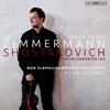 ショスタコーヴィチ:ヴァイオリン協奏曲第1&2番 ツィンマーマン(VN) ギルバート / NDRエルプpo.
