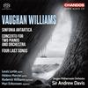 ヴォーン・ウィリアムズ:南極交響曲(交響曲第7番) 他 デイヴィス / ベルゲンpo. 他