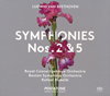 ベートーヴェン:交響曲第2番・第5番「運命」 クーベリック / RCO、BSO