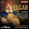 エルガー:交響的習作「ファルスタッフ」 A.デイヴィス / BBCフィルハーモニック ウィリアムズ(BR)