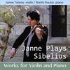 Janne Plays Sibeliusヤンネ舘野(VN) ラウティオ(P) [CD]