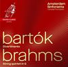 ブラームス:弦楽五重奏曲op.111(弦楽合奏版) トンプソン(VN) アムステルダム・シンフォニエッタ [CD] [アルバム] [2018/06/22発売]