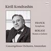 フランク:交響曲 / ベルリオーズ:劇的交響曲「ロメオとジュリエット」より コンドラシン / ACO [CD] [アルバム] [2018/05/00発売]