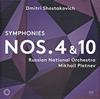 ショスタコーヴィチ:交響曲第4番・第10番 プレトニョフ / ロシア・ナショナルo.