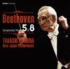 ベートーヴェン:交響曲全集4〜第5番・第8番朝比奈隆 - 新日本フィルハーモニーso. [UHQCD]