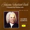 J.S.バッハ:無伴奏ヴァイオリン・ソナタ(全曲)シェリング(VN) [SHM-CD]