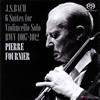 J.S.バッハ:無伴奏チェロ組曲(全曲) フルニエ(VC) [SA-CD]