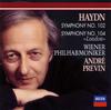 ハイドン:交響曲第102番・第104番「ロンドン」 プレヴィン / VPO [SHM-CD] [再発] [アルバム] [2019/04/03発売]
