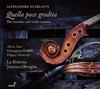 A.スカルラッティ:リコーダーとヴァイオリンのカンタータ集オブレゴン(VC) ラ・リティラータ [CD]