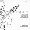ヒンデミット:ヴァイオリンとピアノのための作品全集 ミンツ(VN) コブリン(P)