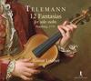 テレマン:無伴奏ヴァイオリンのための12の幻想曲レツボール(VN) [CD]
